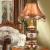 JDフラッグシップブランド直営照明灯カレン欧式テーラー寝室ベッドルーム農村復古ジェーン欧式テーリングリビングルーム書斎創意テールブルプ中号調光スイッチ