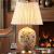 圣瑪帝诺新中国式陶磁器シリーズブメントの欧式寝室Ӣドラッピング现代简单单单单ビル照明器具AV-2195全铜セパレータ