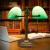 拾光記憶双頭銀行灯アメリカ復古民国蒋介石テリング寝室ベッドの書斎led学習テ-ブルグリーン読書旧式レトロテ-ブルグリーン