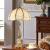 欧式復古豪華アメリカバ式全銅テストベッドルームベドリング結婚式の副嫁創意客間玄ガラスっていうフル銅寝台書房震音led家庭用ディープリング銅テップバップ