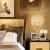 首度(sdhouseware)テーブルランプ床头灯卧室 可调光麻线球 TD0901
