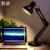 ライトアップライトLEDテープル学生寝室ベッド学習読書作業アメリカン折りたたみクリップ充電テーピング寮神器プレゼント創意カスタマイズ祝日装飾三色切替+小夜ライトモード(非調光)