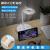 公雅創意led保護眼テ-ブルラインプ多機能電源デスクトップ充電板USB電気コンセント/コンセント/コンセント/コンセント/コンセント/コンセント/レイアウト/レイアウト/配線板/プラグインベッドヘッドランプホワイトテ-ブルソケット全長1.8 m