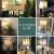一般的な丁堡アメリカーテブル寝室ベットヘッド北欧式復古led手描き鳥装飾暖かい結婚祝いのプレゼント346中号鳥声物語グリーン61*28 CMボタンスイッチ【6 WLED暖かい光】
