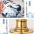 金豪新中国式景徳鎮陶磁器サーポポライトのӢドラップ全銅アメリカ式ラトリビグ書斎テ-ブルラグースT 2428花が咲いて富貴です。