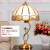 新中国式の全銅テ-ブルライジング寝室のヘッドランプのアメリカンレトロで豪華なリビングルームの隅にあるいくつかの書斎別荘ホテルのロビー創意現代簡単な西洋式装飾LED調光スイッチT 133