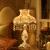 wanlang欧式テ-ブルライジング寝室枕頭灯創意リビング書房結婚祝いプレゼントゴンチャスタスタスタ装調光スイッチ