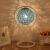 欽浦の照明は簡単で現代のアイデアの麻球夜灯寝室の寝床のファッションロマンチックな芸術の客間を予約して調光します。